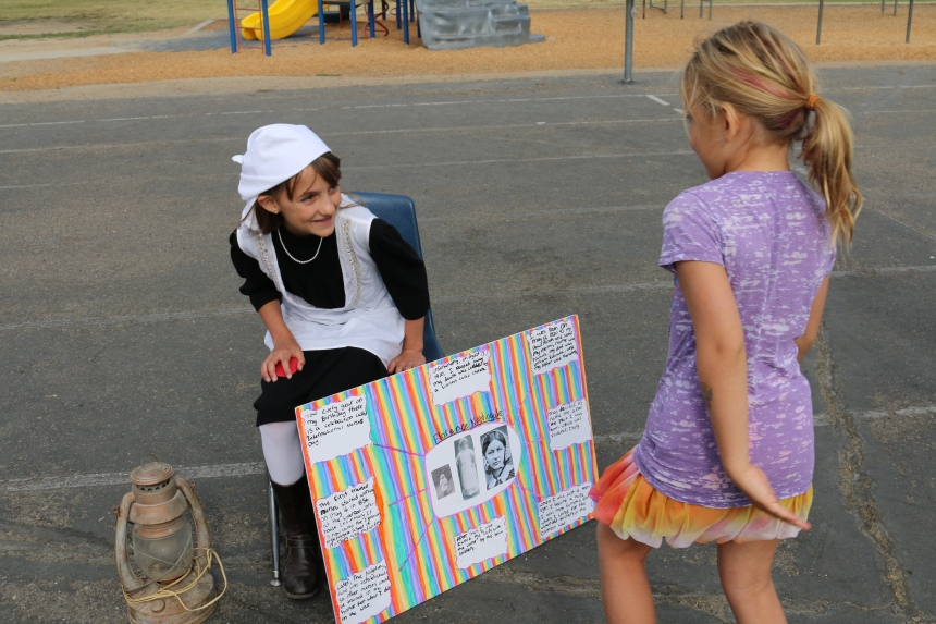 Florence Nightingale (AKA Paige Millet) shares her life story with a young listener.