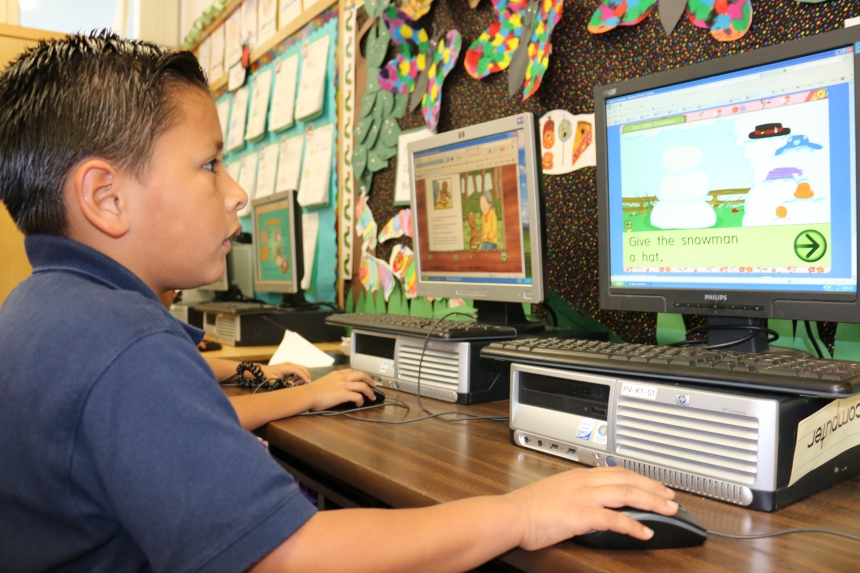 The computer games are a  favorite activity among the students.