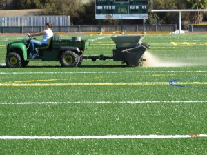 Back in October when the finishing touches were being done to the new Royal field.